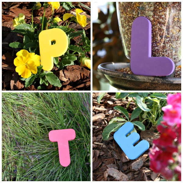 Letters Garden: Summer Enrichment Activities